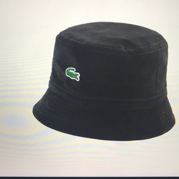 0f6d55f92ae7 SUPREME SS18 Lacoste Velour Hat
